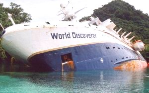 World Discoverer Grounding, SCOPIC Survey  Solomon Islands